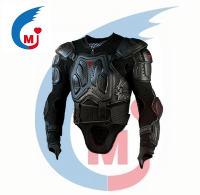 Motorcycle Black Body Armor Removable Jacket /Motorcycle Projector