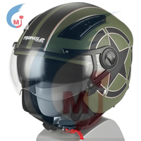 New Model Motorcycle Accessories Motorcycle Full Face Green Color Helmet