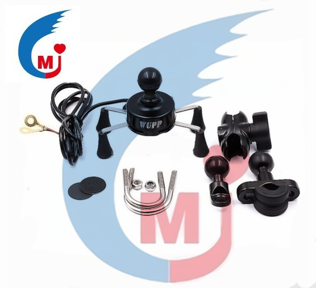 Motorcycle Accessories Phone USB Charger With Bracket