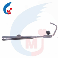 Motorcycle Muffler Of BAJAJ BOXER CT100
